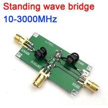 10M 3000MHz ayakta dalga oranı yansıtıcı köprü SWR RF yönlü köprü RF ağ devre anten ölçme hata ayıklama