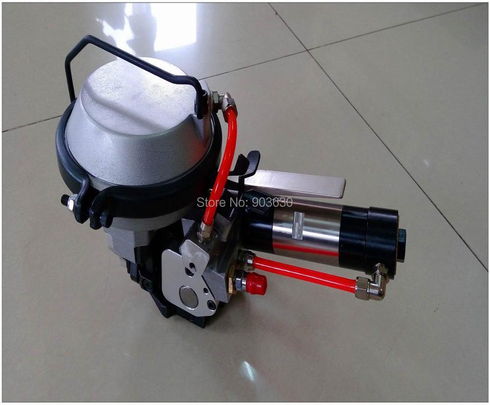 KZ-19/16 kombinált pneumatikus acél hevederes gép, fém csomagoló - Elektromos kéziszerszámok - Fénykép 3