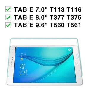 Image 2 - Samsung Galaxy Tab için E 9.6 cam sm t561 ekran koruyucu üzerinde de pantalla para T561 T560 temperli cam koruyucu film 9h 9 6