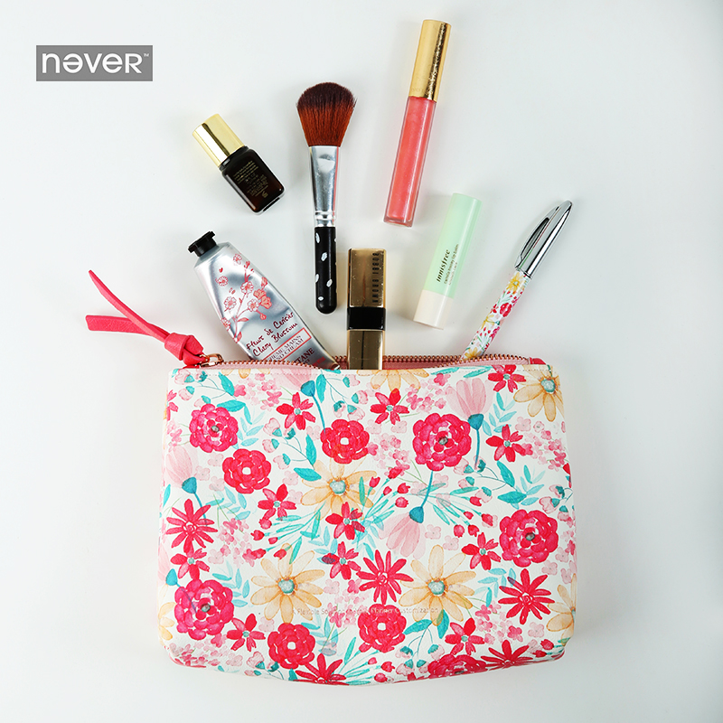 NEVER Mid Summer Starry sky pencil bag makeup Cosmetic Bag Travel storage bag office accessories for girls school stationery travel aluminum blue dji mavic pro storage bag case box suitcase for drone battery remote controller accessories