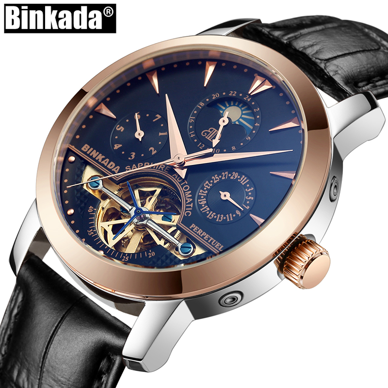 Fashion Male Leather Sport Watches relogio masculino Business Men Mechanical Wrist Watch Luxury Brand Automatic Gold Watch advu 50 35 a p a advu 50 40 a p a advu 50 45 a p a advu 50 50 a p a advu 50 60 a p a festo compact cylinders
