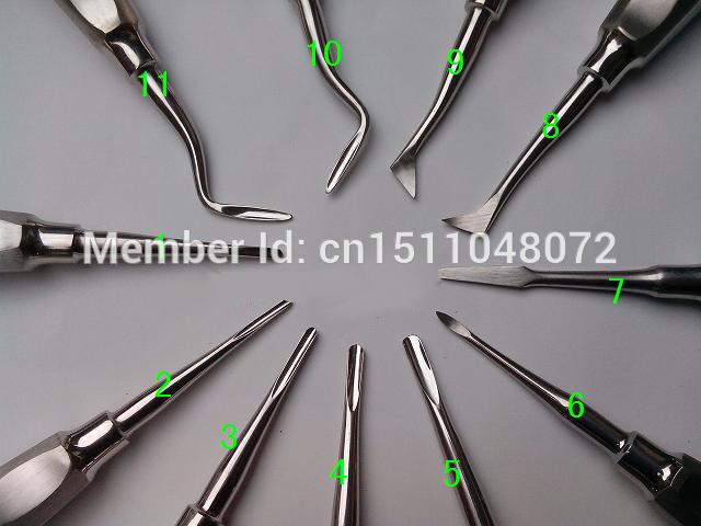 O envio gratuito de 1 peça de Mão uso ferramentas instrumentos odontológicos dental scaler curretage ferramentas