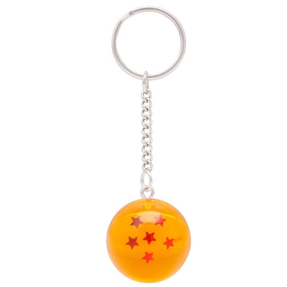חדש חם קריקטורות Z 7 כוכבים כדורי Keychain דמויות צעצועי מפתח שרשרת תליון רכב מתנות אביזרי עבור Dropshipping
