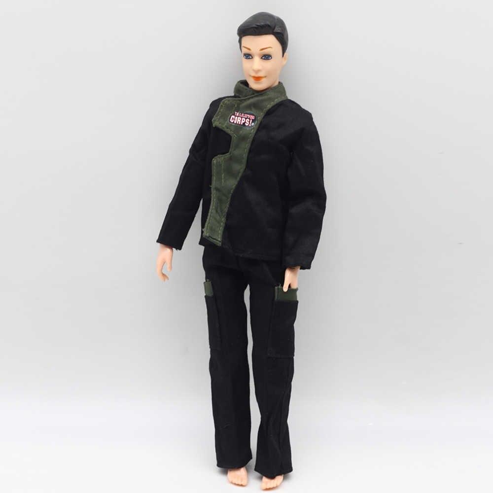 Vêtements Prince Original Papabasi uniforme de Police de Combat tenue de flic pour Barbie garçon mâle Ken poupée pour Lanard 1/6 soldat meilleur cadeau
