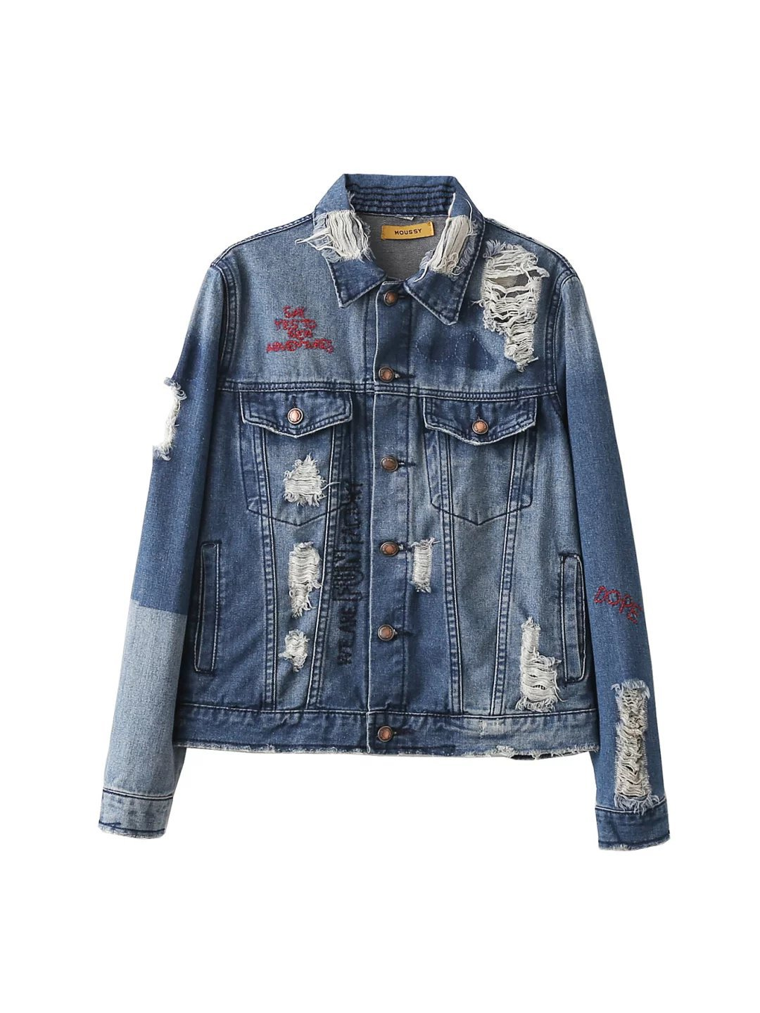 Popular Old Denim Jacket-Buy Cheap Old Denim Jacket lots from ...