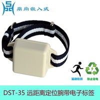 Remote Tag 2.4G Active RFID RF Card Wristband Tag Vehicle Personnel Location Attendance