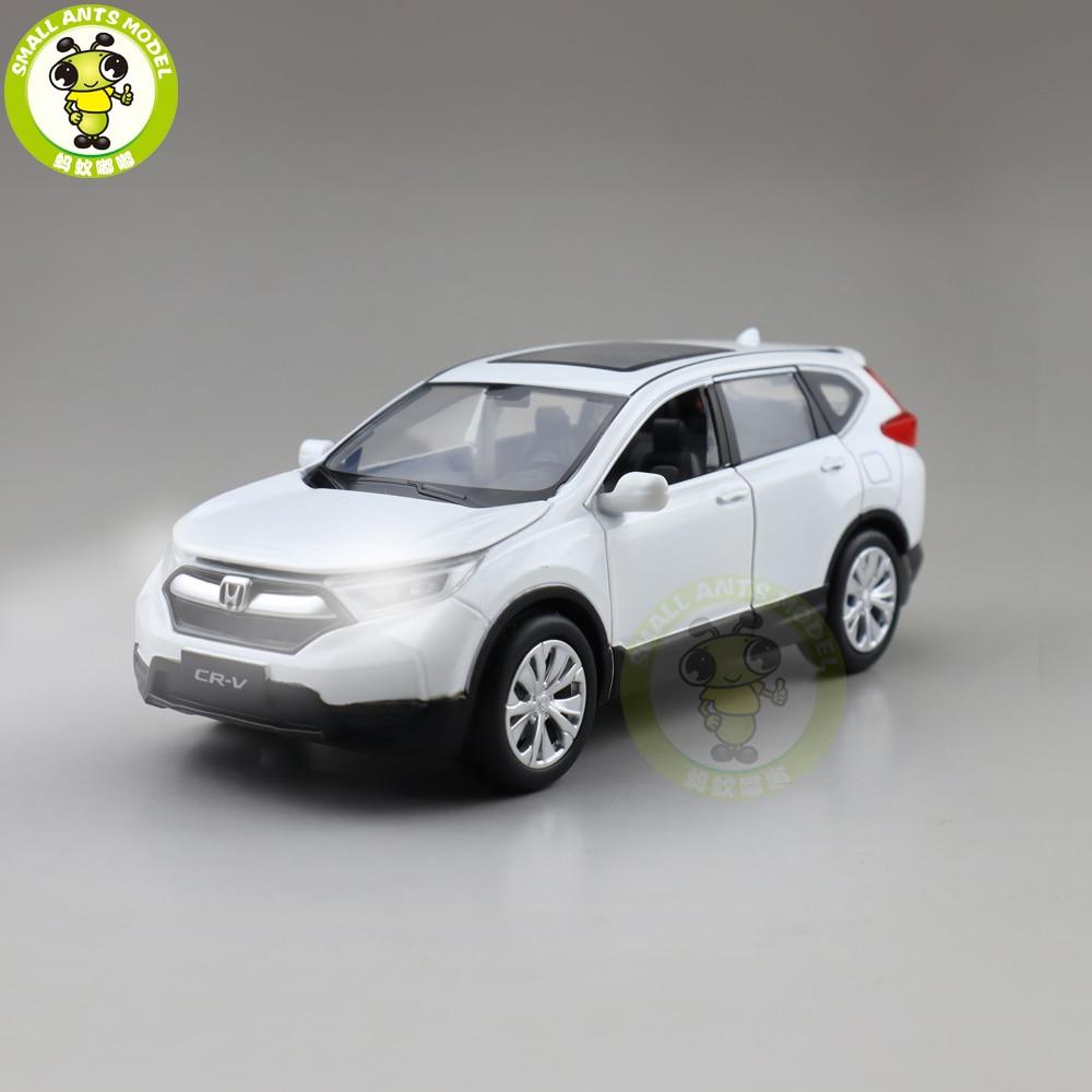 1/32 JACKIEKIM CRV CR V SUV Diecast Model CAR SUV Toys For Kids Children Sound Lighting Pull Back Gifts