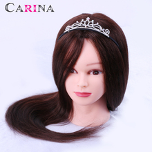 Free shipping 50% Natural Hair Training Mannequin Heads With Dummy Head Priactice