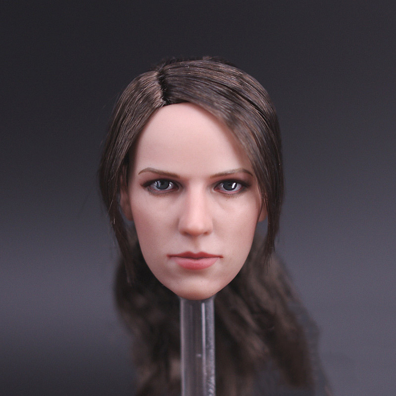 1:6 Scale Female head Sculpt  for 12 Hot Toys Phicen Female Action Figure beauty girl Sniper Model Toys soldier model kumik 16 14 1 6 scale female headplay girl head sculpt fit 12 hot toys phicen action figure