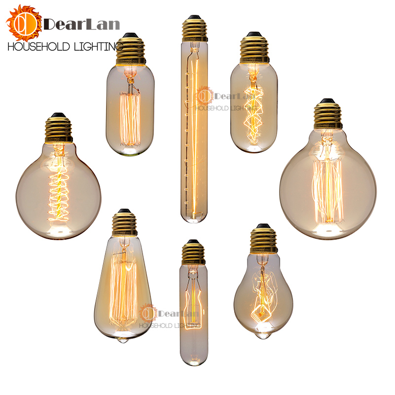 Wholesale Price Vintage Creative Edison Bulb Incandiscent Light Bulbs For Decoration Of Living