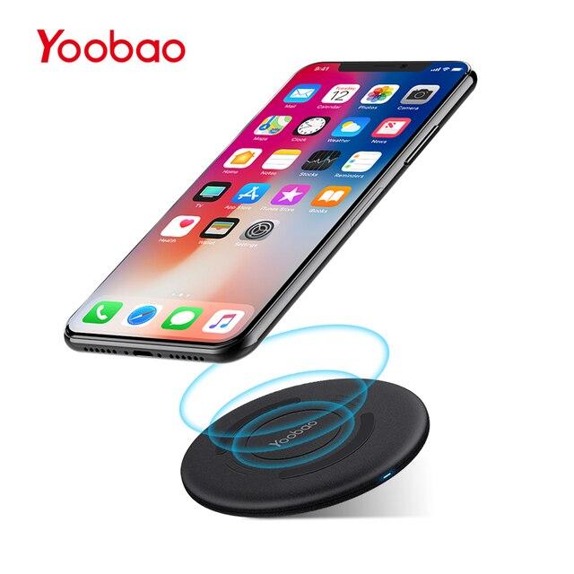 Yoobao D1 мини Беспроводной Зарядное устройство QI зарядного устройства Водонепроницаемый мобильного телефона Зарядное устройство для Samsung край S7 S7 край LG Nokia IPhone 10 8