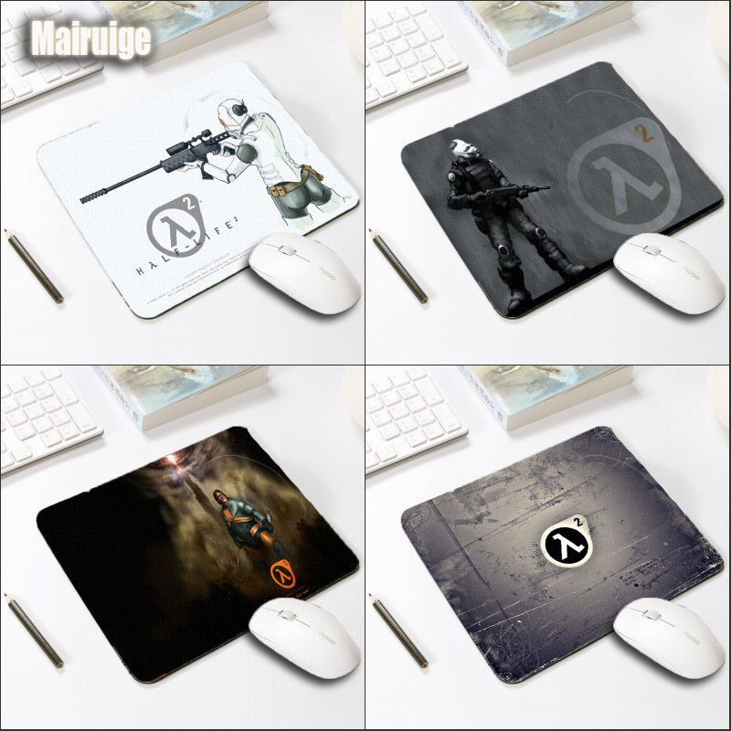 Mairuige Gaming Mousepad As Computer Peripherals Gifts Half Life Fps Game Mini Size 220x180x2MM for Decorative Tabletop Office