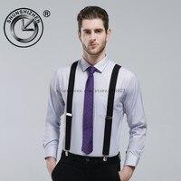 2016 Men Suspender with 4 clips mens men braces suspenders