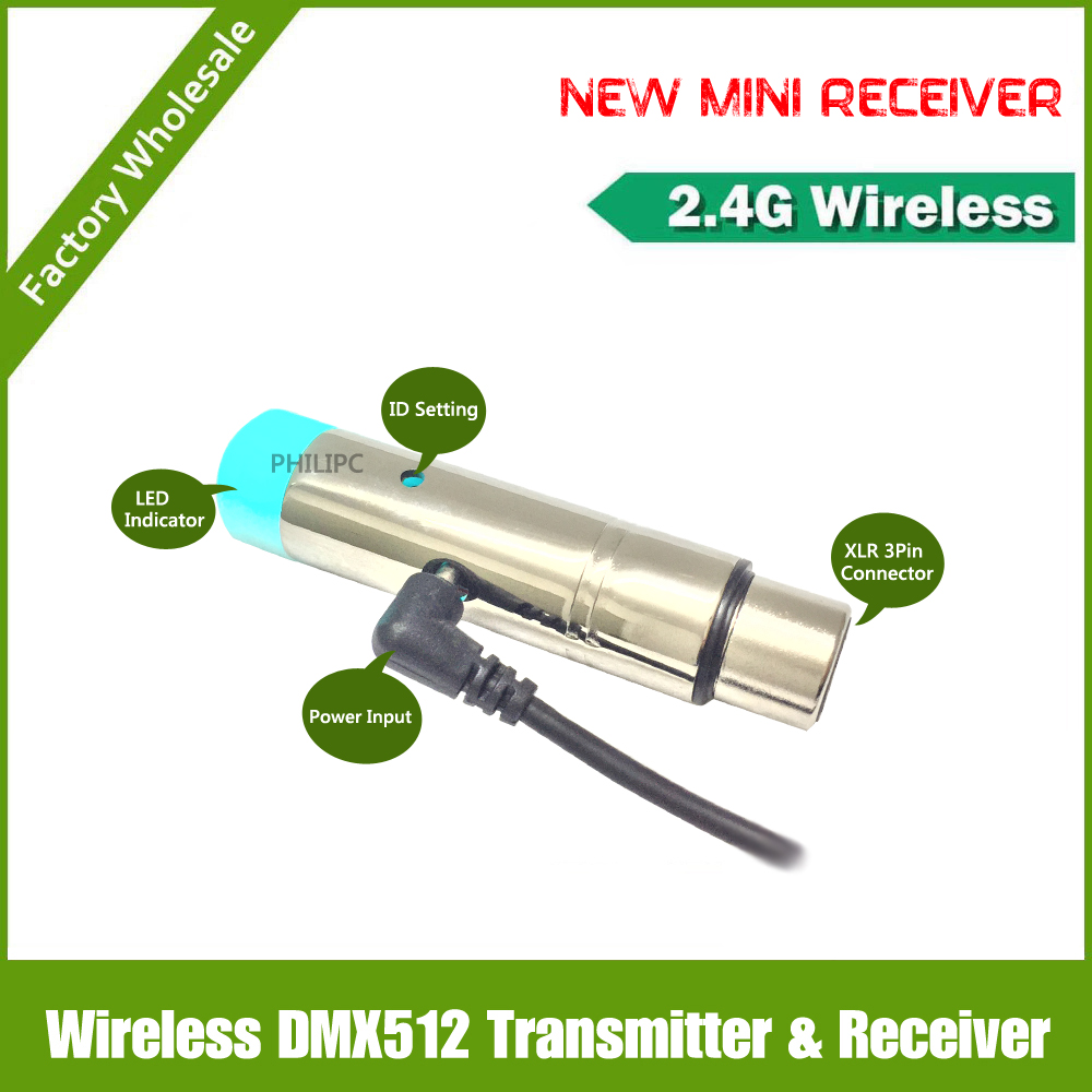 Free shipping NEW Hot Sale MINI Wireless DMX512  receiver wireless dmx512 receptor for move stage lighting hot sale board game never have i ever new hot anti human card in stock 550pcs humanites for against sealed ship free shipping