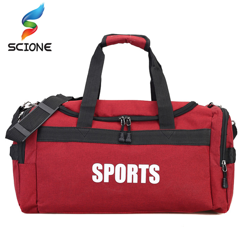 Outdoor Sports Gym Bag Travel Handbag for Men Fitness Training Shoulder Handbag for Women Yoga Luggage Duffles Crossbody Bags 2018 new sport fitness bag for women and men surper light waterproof nylon gym crossbody bag athletes training luggage handbag