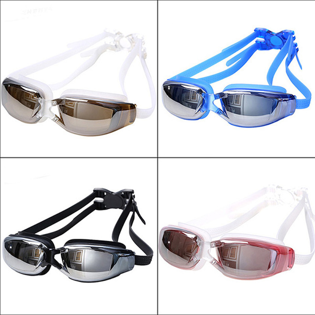 Professional Adult Anti-Fog UV Protection Swimming Goggles Waterproof Swiming Goggles Glasses Adult Eyewear 3