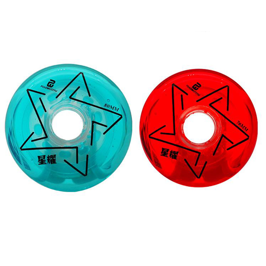 Diamond Inline Skate Wheels 83A Red Blue Pink 64 68 70 72 76 80mm Slalom Slide Roller Skating Tires For SEBA Powerslide Patines