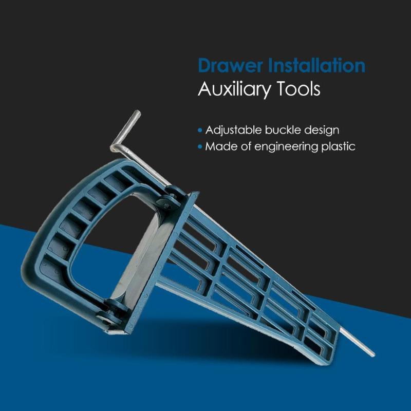 Auxiliary Positioning Holder Drawer Track Installation Jig Drawer Slide Jig Cabinet Furniture Extension Cupboard Hardware Ship
