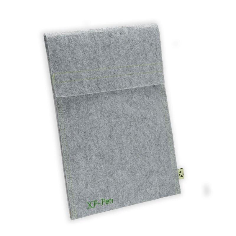 Xp-pen wełniany futerał do przenoszenia obudowa ochronna walizka podróżna na tablet graficzny i tablet z ekranem dotykowym i podkładką
