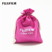 Fujifilm instax mini película protetora, bolsa de pano com feixe para câmera, fujifilm instax mini 7s 7c 8 9 25 acessórios da câmera 50s