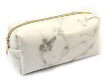 Marble Multi-Function Purse Box Travel Makeup Cosmetic Bag Toiletry Pencil Case Women Fashion Bags Female