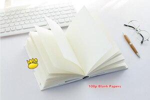 """Image 5 - Cubierta dura grande """"Night Ocean"""" planificador diario semanal Agenda cuaderno de estudio cuadrícula forrada papeles en blanco papelería regalo"""