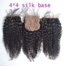 On Sales 7a Peruvian Virgin Silk Base Top Closures Super Quality Cheap Human Hair Peruvain Kinky