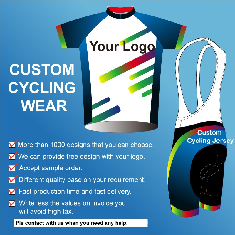 OEM service sublimation printing custom cycling jersey/OEM bike wear/bicycle clothes cycling clothing with your design and logo custom made cheap cycling jersey customized bike uniform sportswear manufacturers oem service bicycle bib shorts with your logo