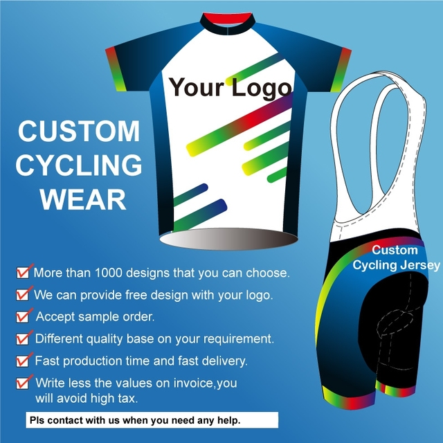 OEM service sublimation printing custom cycling jersey OEM bike wear bicycle  clothes cycling clothing with your design and logo ed2f61a3a