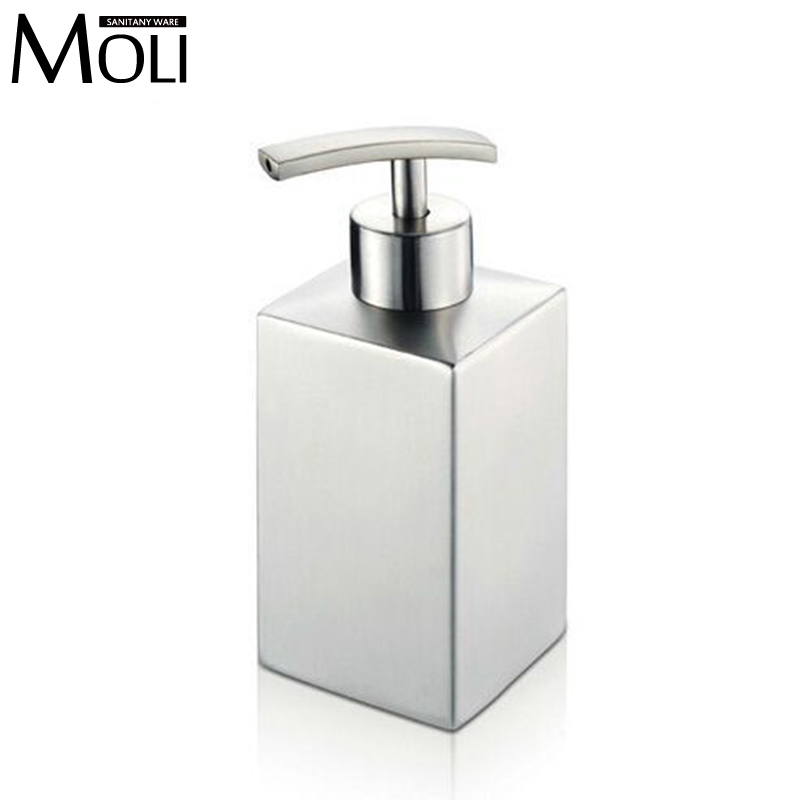 304 stainless steel soap dispenser for bathroom