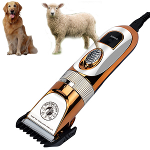 Image 2 - Aparador de cabelos de ovelha profissional, poderoso, cortador de cabelo, para cães, recarregável, máquina de corte de cabelo, ovelha, aparador