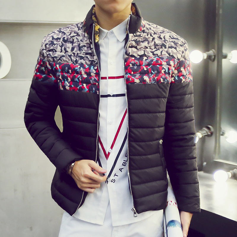 T Cheap wholesale 2017 autumn winter new male slim short design thickening men fashion casual plus size cotton-padded jacket  free shipping 2016 autumn winter new korean version fashion city men slim casual zipper cotton padded jacket cheap wholesale