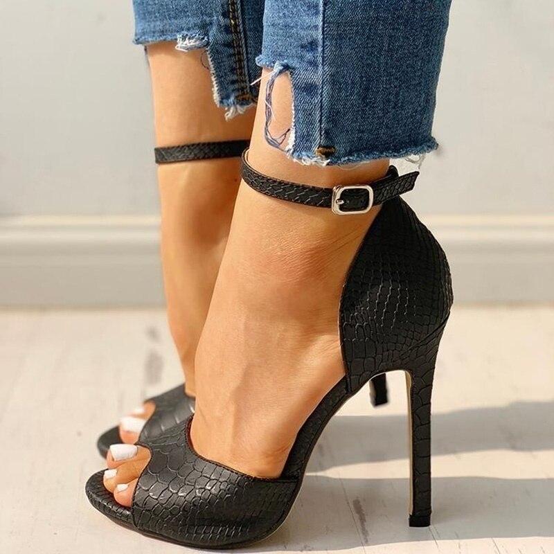 Women's Summer Fashion Increased Stiletto High Heel Super High Heel Sexy Exquisite High Heels