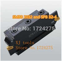 Free delivery of SPB32-4 NC cutter bar and SMBB 2032 CNC turret set for SP400/ZQMX4N-11-1E   CNC blade