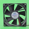2 Pieces Lot Gdstime 9225 S DC 24 V 2Pin Cooler Ventoinha de 92mm x 25mm