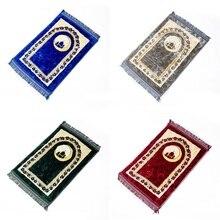 80*120cm Thick Islamic Muslim Prayer Mat Salat Musallah Rug Tapis Travel Praying Carpet Sajadah Islamic Praying Mat Blanket PM35