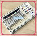 New 10pcs High Quality Metal Watch Screwdriver Set with Spare Tips for Watch Repair