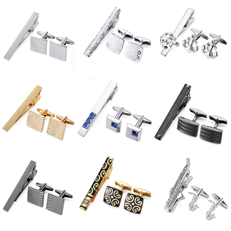 Men Tie Clip Though She Be But Little She is Fierce Quote Stainless Tie Pins for Business Wedding Shirts Tie Clips Include Gift Box