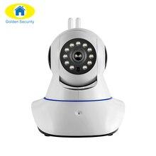 Золотой безопасности двойной антенны безопасности Камера беспроводной WI-FI 720 P HD Цифровая безопасность CCTV Камера систем движения Сенсор сигнализации