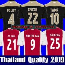 e7bc7eb15 Top thailand 2018 2019 Ajax FC soccer jersey ZIYECH TADIC BLIND CRUYFF jerseys  18 19 football