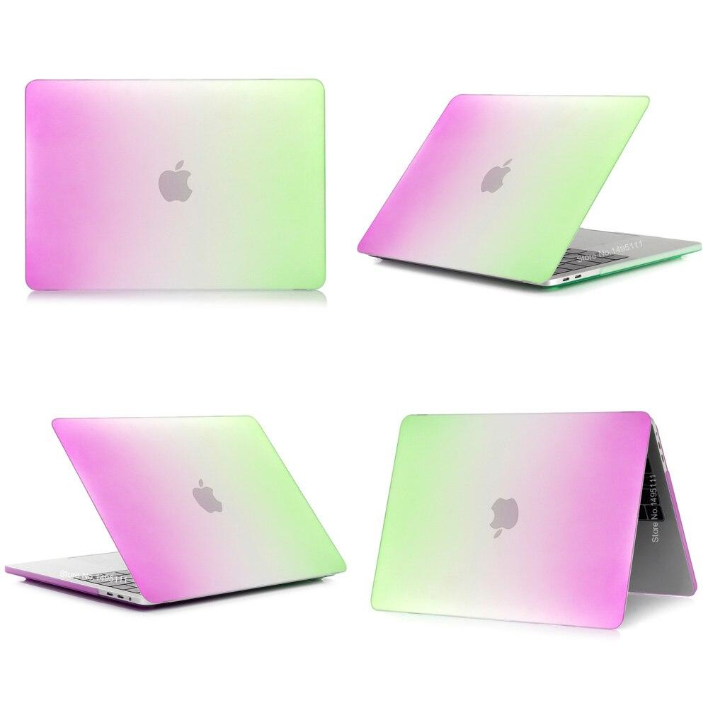 Градиент ноутбук корпусы Apple MacBook Air Pro - Ноутбуктердің аксессуарлары - фото 5