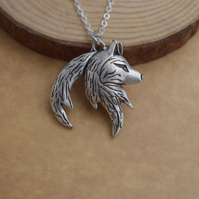 Yin Yang Wolf Necklace For Couples (2 necklaces) 1