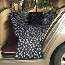 Paw print Dog Waterproof Rear Back Car Seat Cover