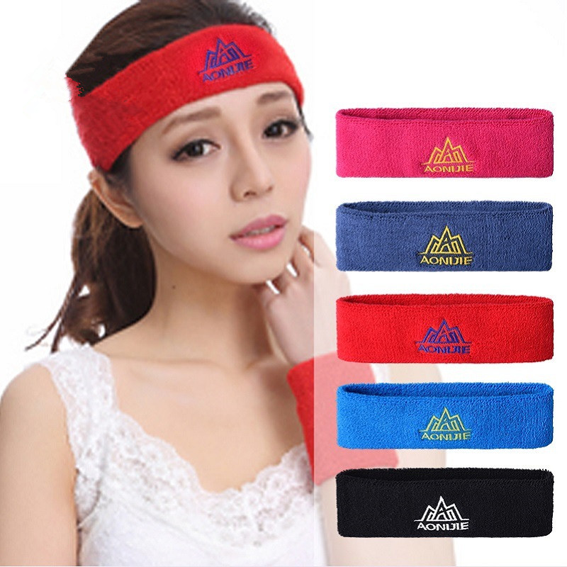 c26e90ed3f2f AONIJIE Outdoor Sport Sweat Headband High Elasticity Cotton Breathable Yoga  Fitness Tennis GYM Hair Head Band-in Sweatband from Sports   Entertainment  on ...