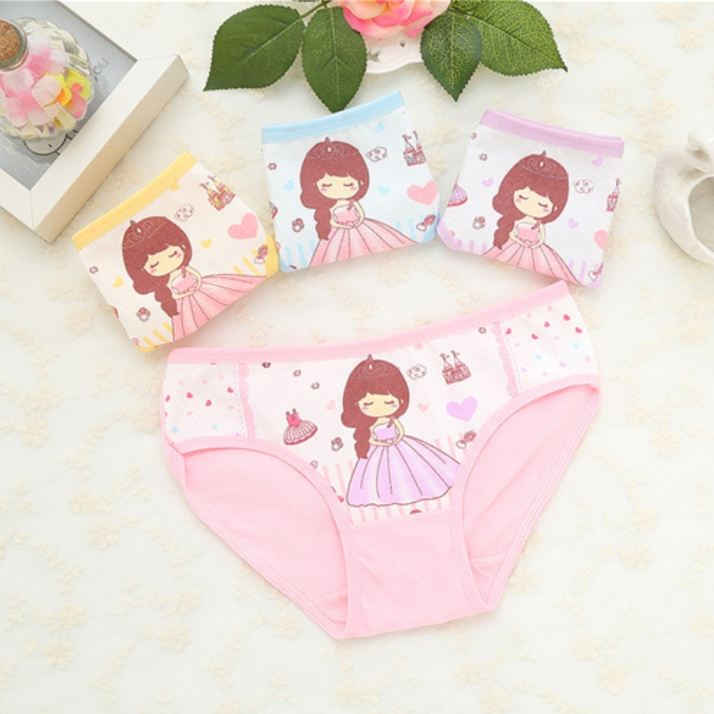 Baby Underwear Kids Underwear Calcinha Infantil Kids Panties Child's For Shorts For Nurseries Children's Briefs 1pcs