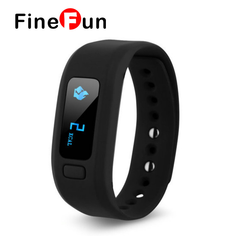 FineFun Moving up 2 Smart Bluetooth Bracelet Sports And Fitness Pedometer Calorie Expenditure Sleep Monitoring for IOS Android