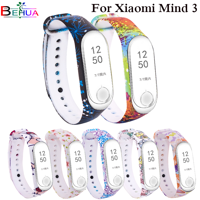 Colorful Silicone Strap For Xiaomi Mi Band 3 Smart Band Replacement Wristbands For Xiaomi Miband 3 Miband 3 Pulsera Inteligente