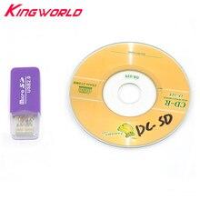 עבור מיקרו SD TF כרטיס קורא עבור SEGA Dreamcast עבור DC כרטיס קורא