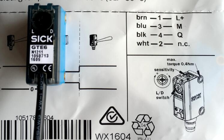WTB4-3N1361 KT5G-2N1111S16 new original SICK photoelectric switch sensor all series  authentic Germany Track bag machine brand new original authentic brs15b