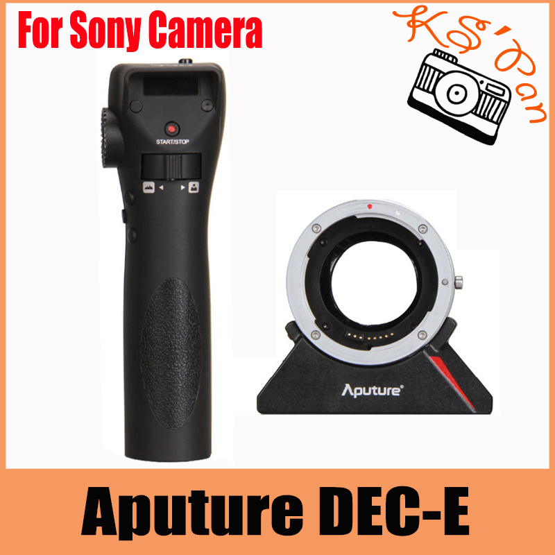 Aputure DEC DEC-E Lens Adapter Wireless Remote Adapter Follow Focus Control for Canon Lenses to E Mount for Sony Camera oom control for eng lenses